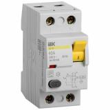 Выключатель дифференциального тока УЗО ВД1-63 2п. 40А/30mА IEK