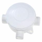 Коробка ОП 3-рожковая белая б/ф (КРК 70х30)
