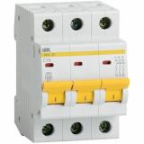 Автоматический выключатель IEK ВА 47-29  3-п. 1А
