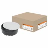 Монтажная коробка У192 СП D102х30мм, крышка, TDM