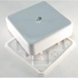 Коробка универсальная для кабель-каналов (80х80х25) 65005 ТУСО