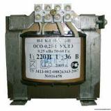 Трансформатор понижающий 1ф. 220В ОСО 0,25 220/36 TDM