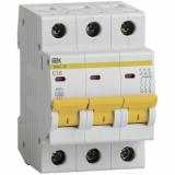 Автоматический выключатель IEK ВА 47-29  3-п. 16А