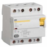Выключатель дифференциальный УЗО ВД1-63 4п. 100А/100mА IEK
