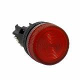 Лампа сигнальная ENS-22 крас. с подсветкой 220В EKF
