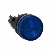 Лампа сигнальная ENS-22 син. с подсветкой 220В EKF