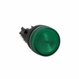 Лампа сигнальная ENS-22 зелен. с подсветкой 380В EKF