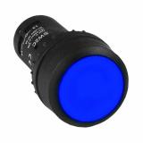 Кнопка SW2C-11 возвратная синяя NO+NC EKF