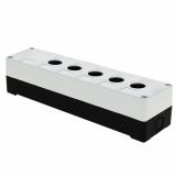 Корпус КП 105 пласт. 5 кнопок белый EKF