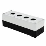 Корпус КП 104 пласт. 4 кнопки белый EKF