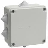 Коробка КМ 41234 распаячная  для о/пр 100х100х50 IP 55 IEK (гермоввод)