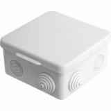 Коробка распаячная 8 герм. 85х85х45 IP-54
