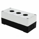Корпус КП 103 пласт. 3 кнопки белый EKF