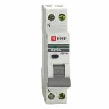 Дифференциальный автомат АВДТ-63М 25А/30мА (1мод, хар-ка С, электр. тип АС) 6кА EKF