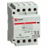 Контактор модульный КМ 50А 3NО+NC (3 мод.) EKF (km-3-50-31)