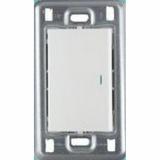 Выключатель 1 СП белый  с подсветкой Anam Legrand Zunis 710018