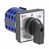 Кулачковый переключатель ПК-1-64 10А для вольтметра EKF