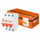 Автоматический выключатель ВА 47-29 3Р 25А 4,5кА х-ка С TDM