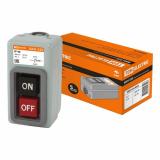Выключатель кнопочный с блокировкой ВКН-325 3-п. 25А 230/400В IP40 TDM
