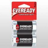 Батарейка Heavy Duty 2шт Eveready D B2 R20 Энерджайзер