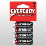 Батарейка Heavy Duty 4шт Eveready АА B4 R6 Энерджайзер