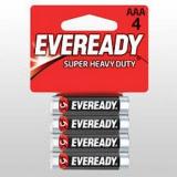 Батарейка Heavy Duty 4шт Eveready ААА B4 R03 Энерджайзер
