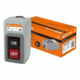 Выключатель кнопочный с блокировкой ВКН-310 3-п. 10А 230/400В IP40 TDM