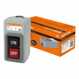 Выключатель кнопочный с блокировкой ВКН-316 3-п. 16А 230/400В IP40 TDM