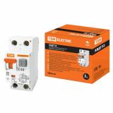 Автоматический выключатель дифференциального тока- АВДТ 32 С40 30мА TDM