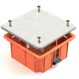 Коробка распаячная для скрытого монтажа г/к КР-41022-92х92х45-IP20-КЭАЗ