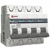 Автоматический выключатель 4-п. 16А(C) PROxima  EKF (mcb4763-4-16C-pro)
