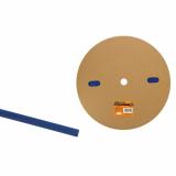 Термоусаживаемая трубка ТУТнг 4/2 синяя  (200м/ролл) TDM