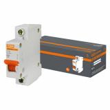 Автоматический выключатель ВА47-63 1-п. 16А 4,5кА С TDM