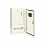 Корпус металлический ЩУ-1ф/1-0-12 IP66 (ЩУРН-1/12 IP66) (395х310х165) TDM