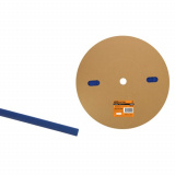 Термоусаживаемая трубка ТУТнг 6/3 синяя  (100м/ролл) TDM