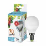 Лампа светодиодная LED-Р45 ШАР-standard 7.5Вт 230В Е14 4000К 675Лм ASD