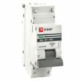 Автоматический выключатель ВА47-100 1-п. 40А (С) 10кА EKF