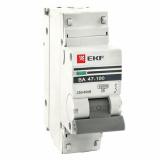 Автоматический выключатель ВА47-100 1-п. 10А (С) 10кА PROxima EKF