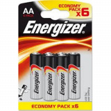 Батарейки MAX 6шт АА Е91 В6 LR6 Энерджайзер
