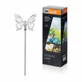 Садовый светильник WOLTA SOLAR Butterfly, нержавеющая сталь,  пластик 72см