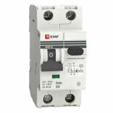 Дифференциальный автомат АВДТ-63М 32А/30мА (1мод, хар-ка С, электр. тип АС) 6кА EKF