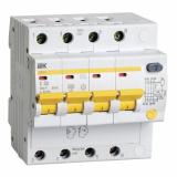 Дифференциальный автомат 4-п  АД-14 32А 30мА IEK