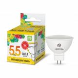 Светодиодная лампа LED-JCDR-standard 5.5Вт 220В GU5.3 3000К 420Лм ASD