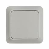 7021-W Выключатель накл 1кл BOLLETO белый IN HOME (1100)
