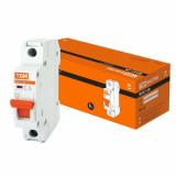 Автоматический выключатель ВА47-29 1Р  6А 4,5кА х-ка С TDM
