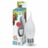 Лампа сд LED-СВЕЧА на ветру-standard 5 Вт 160-260В Е27 4000К 400Лм ASD