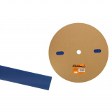 Термоусаживаемая трубка ТУТнг 16/8 синяя  (100м/ролл) TDM