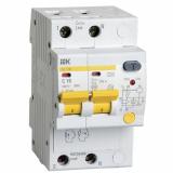 Дифференциальный автомат 2-п  АД-12М 2Р С16  30мА IEK