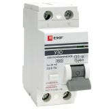 Устройство защитного отключения 2п. 16А/30мА (электромехан.) EKF Proxima
