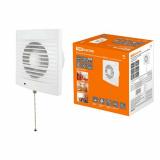 Вентилятор бытовой настенный 120 СВ, с выключателем, TDM